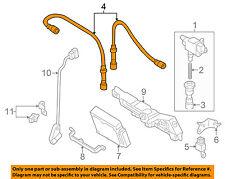 FORD OEM 01-03 Ranger Ignition Spark Plug-Wire OR Set-See Image 1U2Z12259EA