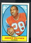 1967 Topps Football Card #35 Abner Haynes-Denver Broncos