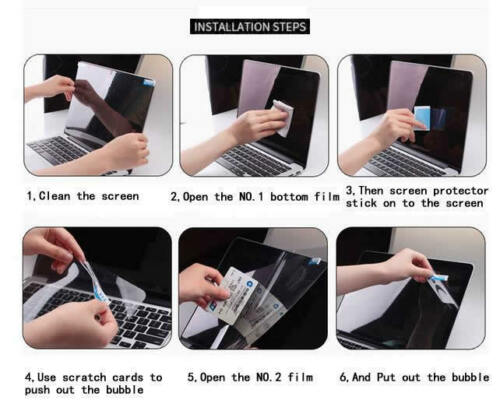 """4PCS PACK 14/"""" Anti Glare BlueRay Screen Protector For HP Pavilion ENVY 14"""