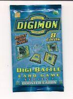 Bandai Digimon Digi-Battle 8-Card Booster Set (Series 1) Toys