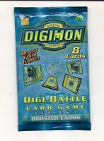 Bandai Digimon Digi-Battle 8-Card Booster Set (Series 1)