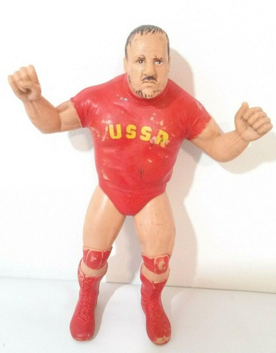 WWF Nikolai Volkoff 8  Figure 1984 LJN Titan Wrestler Vintage