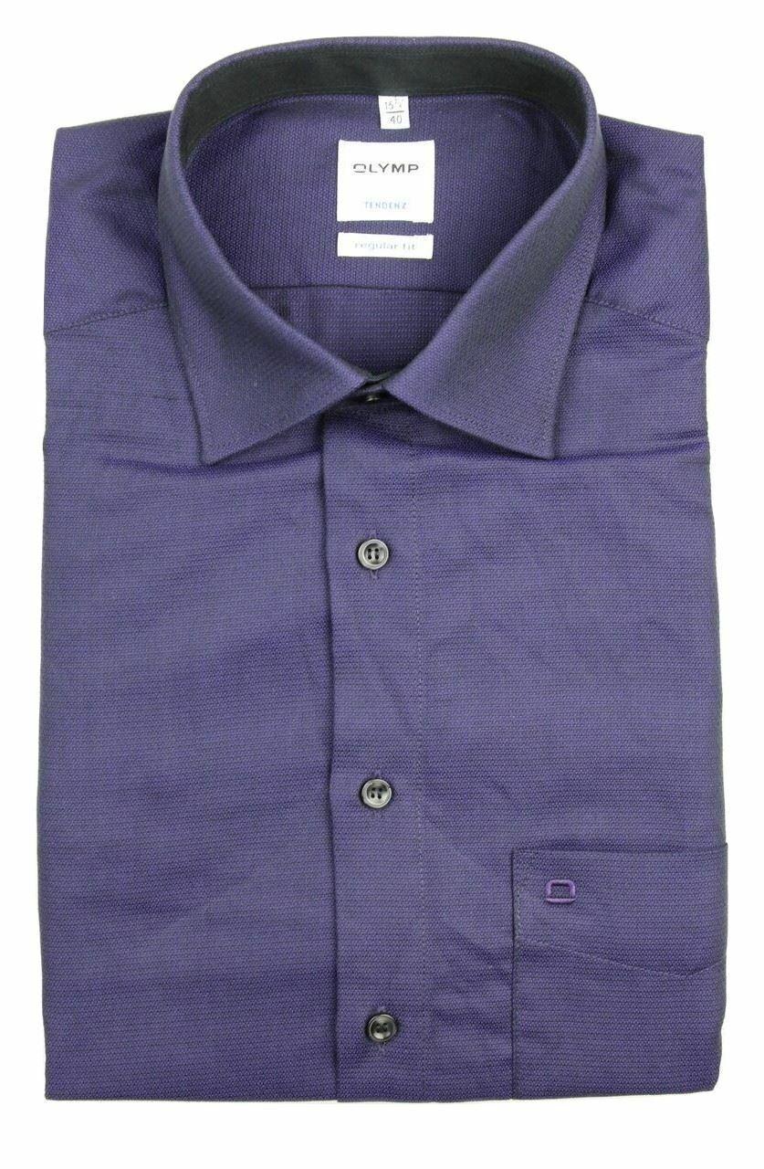 Deep Purple Mix Textured Spread Collar
