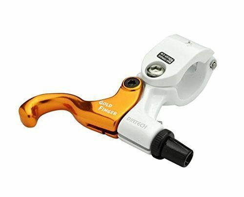 Right Only White x Gold DIA-COMPE TECH99 GOLD FINGER Brake Lever