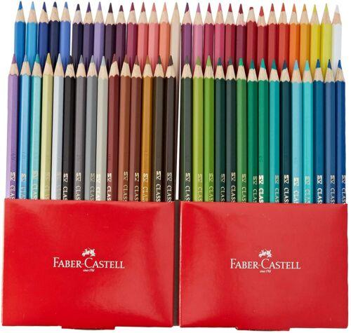 Metallisch// Pastell// Neon Farben Packung 60 Faber-castell Malstifte