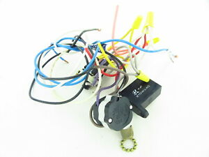 Details about #21 - Used Hampton Bay Ceiling Fan Wiring Harness with on