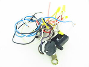 21 - Used Hampton Bay Ceiling Fan Wiring Harness with  Switches/Capacitor/Parts | eBayeBay