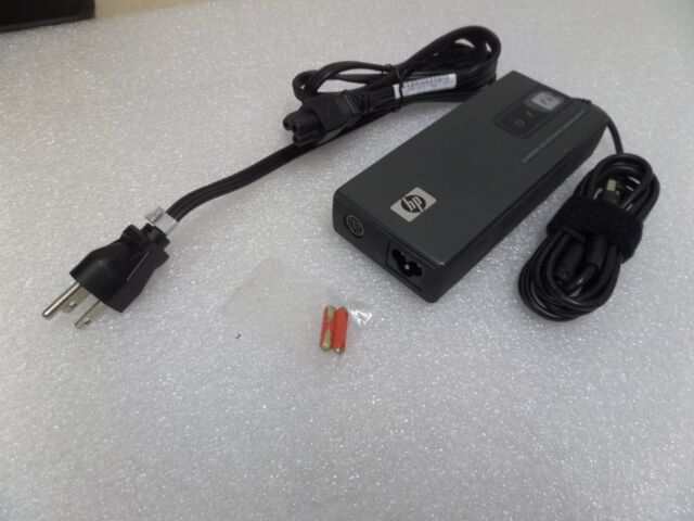 HP 90w Smart AC DC Auto Air Combo Power Adapter 462602 001 Laptop Charger Cable