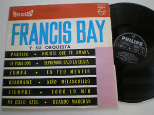 FRANCIS-BAY-St-SPAIN-VINYL-LP-1963-w-COOL-LOUNGE-SURF-034-ZUMBA-034-TITTYSHAKER