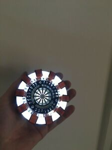 IRON MAN Arc Reactor ULTRA-Bright Wearable Prop for Tony Stark Cosplay