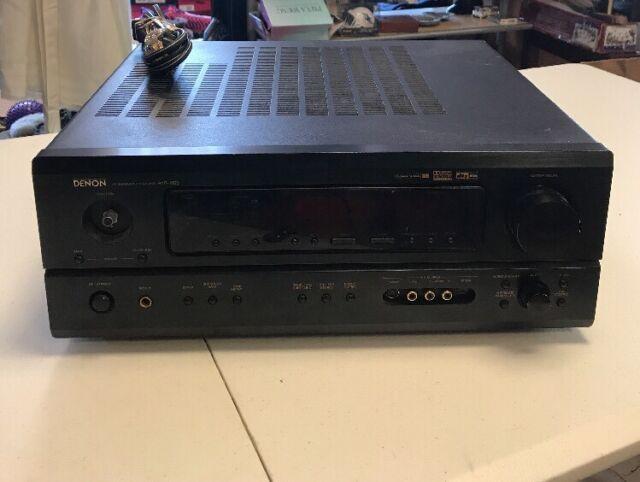 Denon AVR 1803 5.1 Channel 110 Watt Receiver Used  *READ DETAILS*
