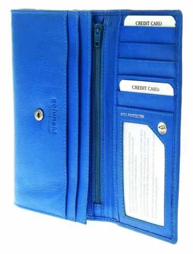 Golunski Zen 52 Super Soft Leather Credit Card Holder Purse RFID Protected
