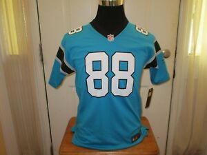 Brand New Greg Olsen  88 Carolina Panthers YOUTH S-M-L-XL Nike ... 6eeabecb7