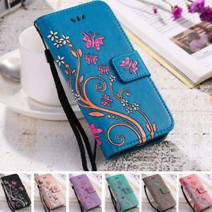 Women-Flip-Wallet-Leather-Phone-Case-Cover-For-Samsung-Galaxy-S6-S7-Edge-S8-Plus
