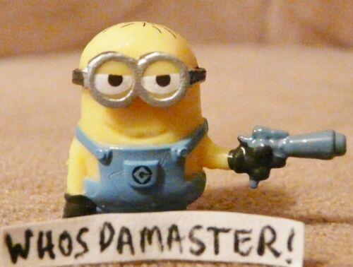 Despicable Me Fighter Battle Pods #34 HOTSHOT PHIL Micro Hero Mint OOP