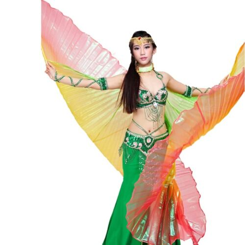 Belly Dance Show 360° Isis Wings gradient Colourful rainbow Colours
