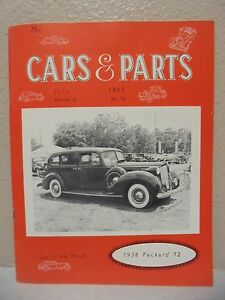Vintage Cars Parts Magazine July 1967 1938 Packard 12 Ebay