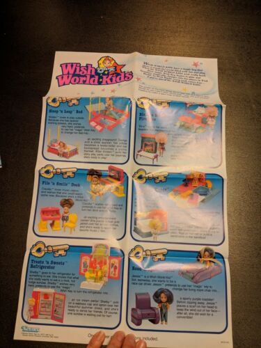 Wish World Kids Play Map and Doll List