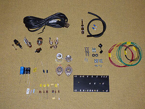 Tweed Champ 5F1 Kit, PARTS kit with Switchcraft, Mallory, Belton socket, DIY kit
