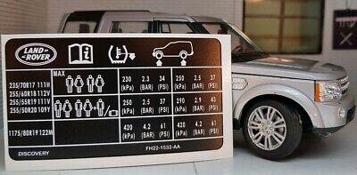 Land Rover Series 3 Defender BL Leyland Logo Dealer Manufacturer Decal Sticker
