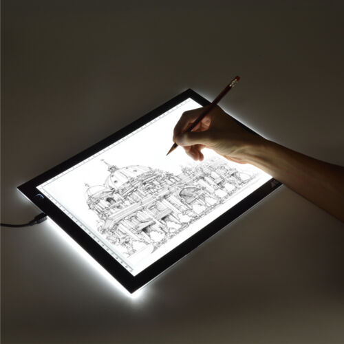 A4 LED Artcraft Tracing Light Pad Light Box Artist Tattoo Drawing Board Display