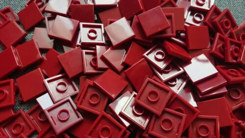 Star Wars // Space 3068 Dark Red Lego 50 2x2 Tile New