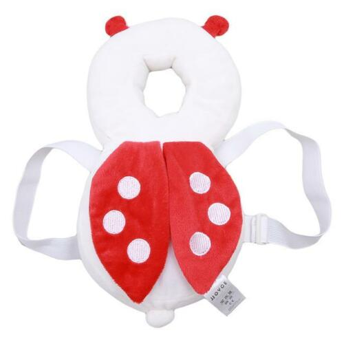 Baby Toddler Safety Protection Pad Cushion w// Harness For Head Back Protect Q