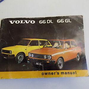 volvo 66 owners handbook and blue vinyl volvo pouch ebay rh ebay co uk Volvo 164 Volvo 122
