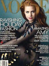 VOGUE MAGAZINE 12/14 DECEMBER 2014 AMY ADAMS WINTER FASHION BRADLEY COOPER BOTOX