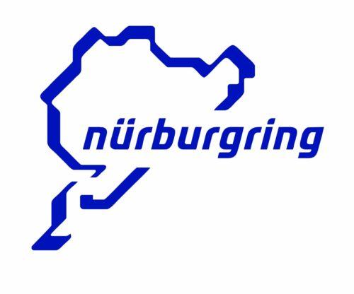 Nurburgring Lap Vinilo Calcomanía muchos diferentes colores Alemania F1