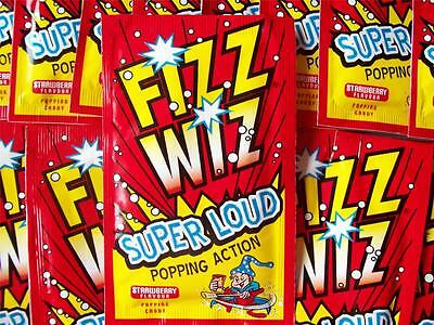 80s 90s Party Table Decorations -  Packets of Popping Candy Fizz Wiz Space Dust
