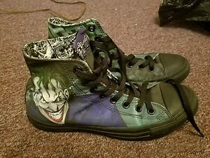 17f78412c4b Converse JOKER HA All Star Chuck Taylor DC Comics Shoes Batman Men 7 ...