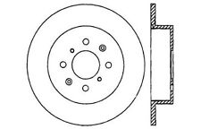SportStop XDrilled & Slotted Rotor fits 2002-2003 Honda Civic  STOPTECH