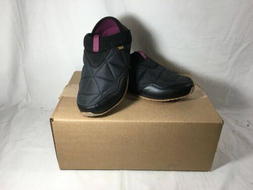 Teva Ember Moc Women's Slippers, Black, Women's 8
