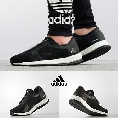 94fdcc63c7466 Adidas Women s Pureboost x Trainer ZIP Running Shoes Black BB1579 Size 5-11