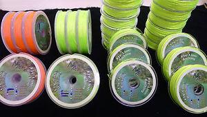 Backing-20-amp-30-lb-50-Meter-100-Meter-200-Meter-Top-Preis-2-Farben-BACKING