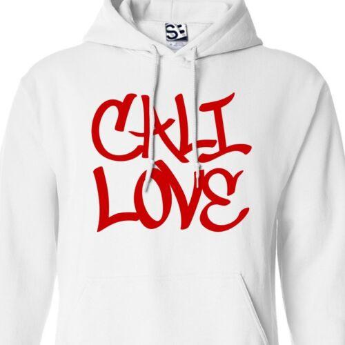 Hooded Tagger California Republic of Tag Sweatshirt Cali Love Graffiti HOODIE