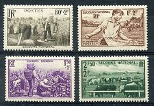 STAMP / TIMBRE DE FRANCE NEUF N° 466/ 469 ** SECOURS NATIONAL  METIER