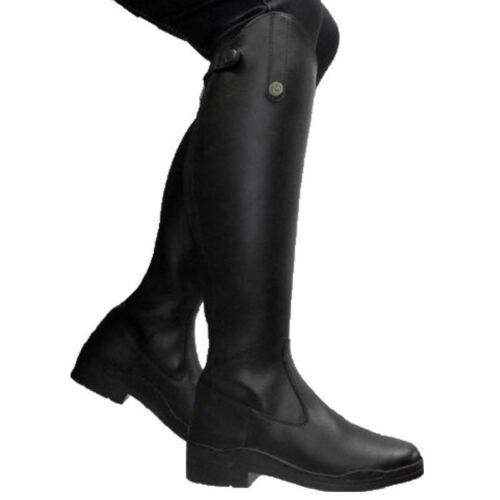 per nera Stivali in Brogini Modena ecopelle adulto pXwqfAq7cr