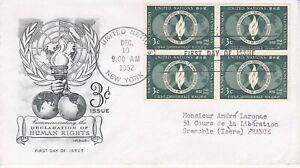 United-Nations-NY2-Enveloppe-1er-jour-1952-Human-Right-3c