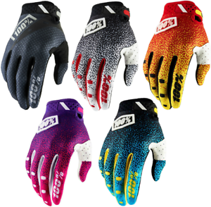 2018 100 Ridefit Gloves Full Finger Mtb Mountain Bike Mx Motocross