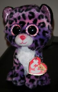 Ty Beanie Boo ~ JEWEL the Leopard (6 Inch)(Justice Exclusive) NEW MWMT