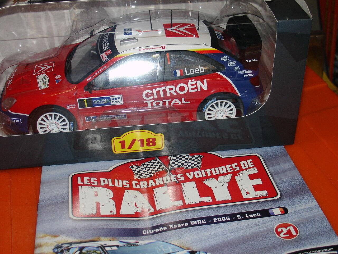 RALLYE   N° 21 CITROEN XSARA WRC-2005-SLOEB