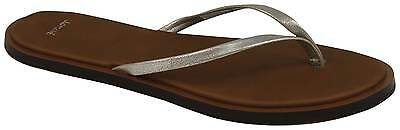Sanuk Yoga Venus Glow Sandal - Silver - New