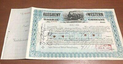 Western Maryland Railway Company Stock Certificate   eBay