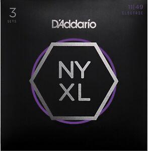 3-Pack-D-039-Addario-NYXL1149-3P-11-49-medium-Guitar-Strings-nyxl1149-3p-3d-sets