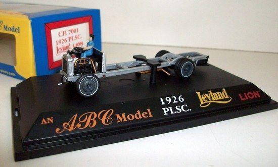 ABC MODELS MODELS MODELS 1 76 - CH 7001 1926 PLSC LEYLAND LION CHASSIS 27aaf5