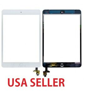 White-Digitizer-Touch-Screen-Glass-Replace-For-iPad-mini-1-2-A1432-A1454-A1489