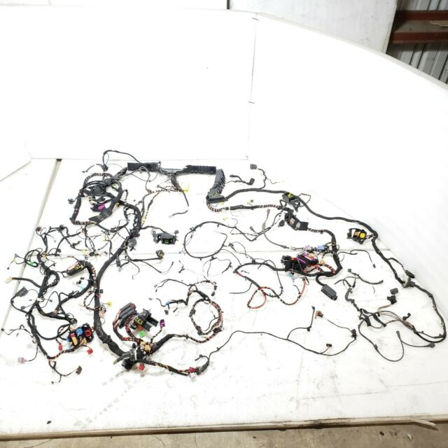 2013 09-16 AUDI S4 BCM COMPLETE MAIN BODY WIRE WIRING