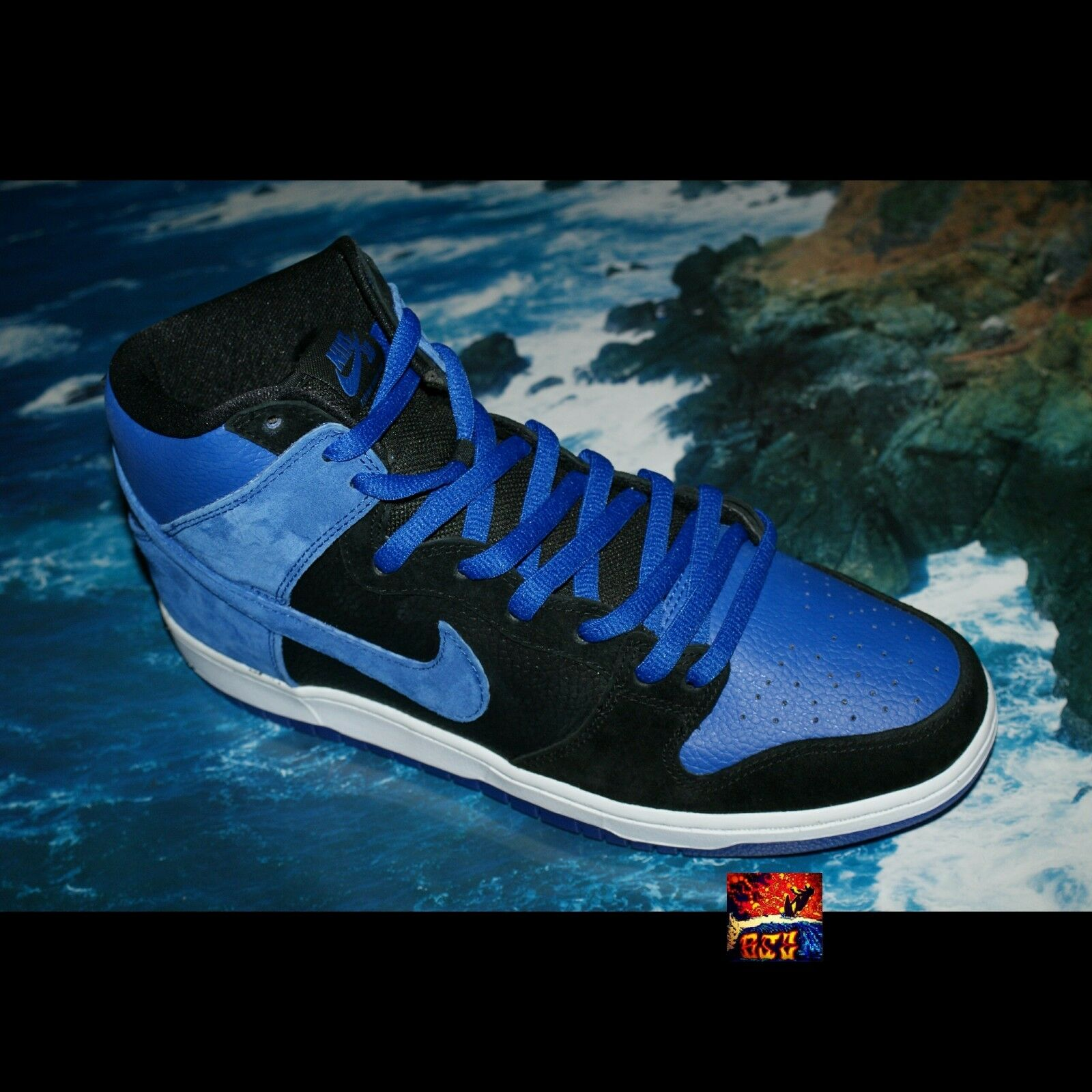 Nike Royal Dunk High Pro SB Royal Nike SZ 12 juego Azul Brand New Jordan 1 Negro DS One I especial de tiempo limitado 6c81da